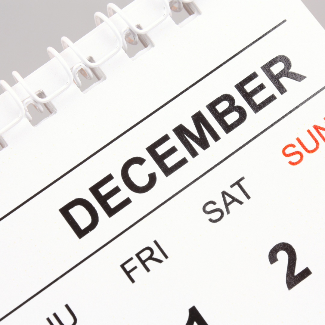 Employer Flexible Making a List and Checking it Twice: Year End 2021 HR Checklist December Calendar