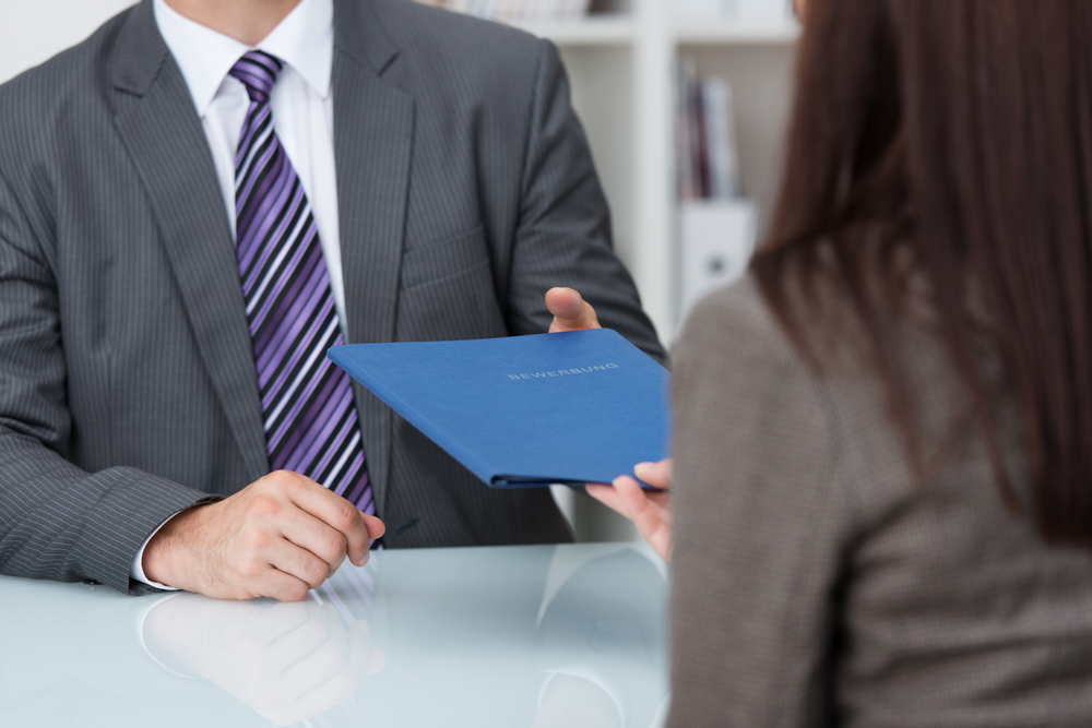 Employer Flexible Improving the Candidate Hiring Experience Two People Conducting an Interview