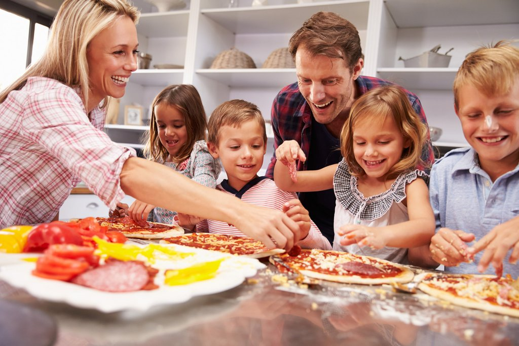 Family Making Pizza in the Kitchen.jpg