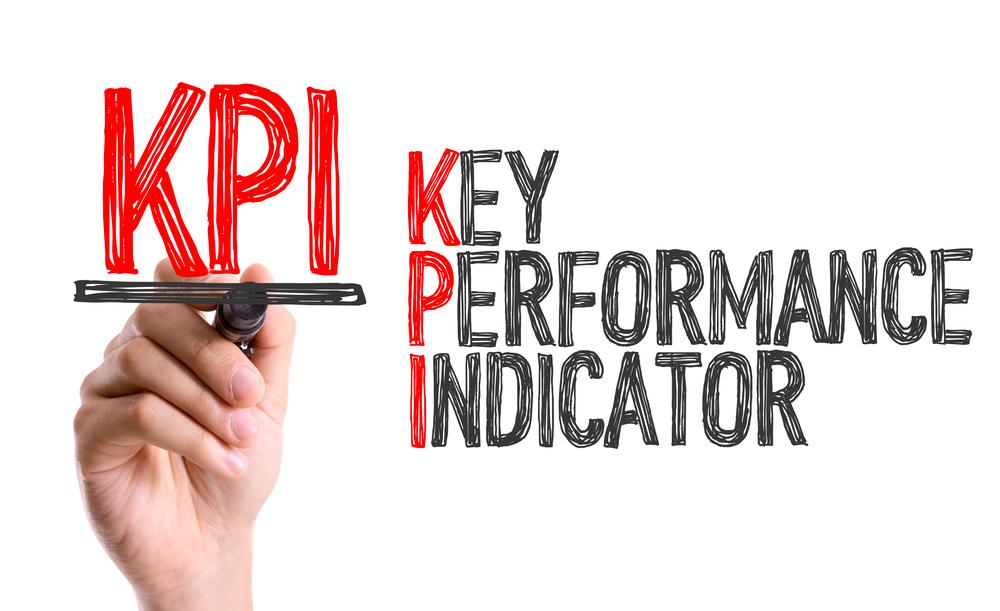 Words on a white background - KPI - Key Performance Indicator
