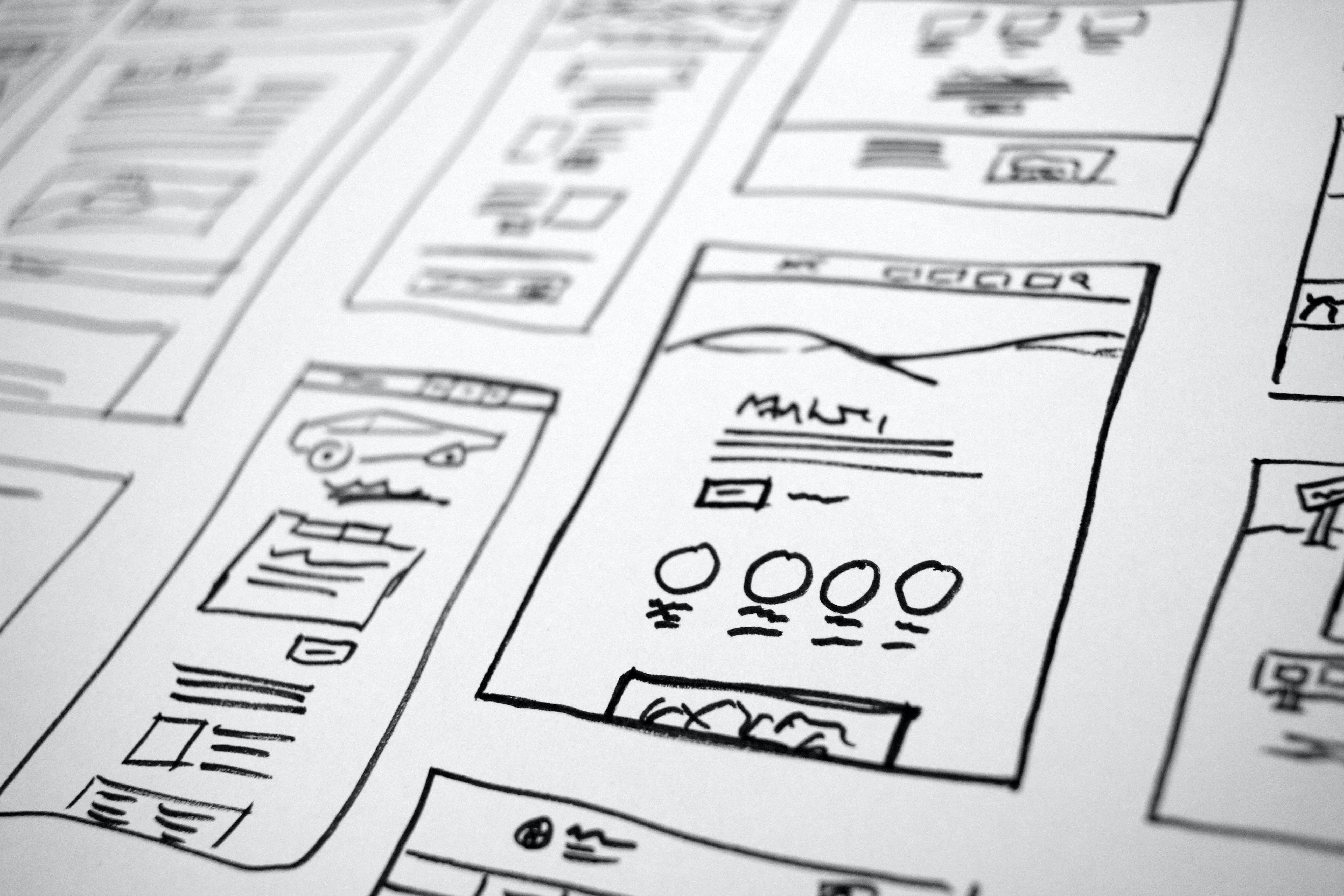 organizational chart drawing
